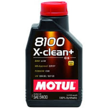 Motul 8100 X-clean Plus 5w30 1л