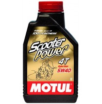 Motul Scooter Power 4T 5w40 1л