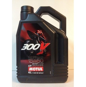 Motul 300V 4T FL Road Racing 15W50 Double Ester 4л