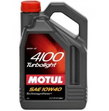 MOTUL 4100 Turbolight 10w40 4 л