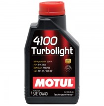 MOTUL 4100 Turbolight 10w40 1 л